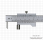 Preview: Marking vernier caliper with roll, 200 mm