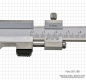 Preview: Vernier caliper for brake-discs, 0 - 100 x 120 mm