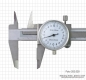 Preview: Dial vernier calipers, 100 x 0,02 mm