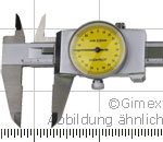 "Preview: Dial vernier calipers, ""TOP"", 150 x 0.02 mm"