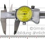 Preview: Dial vernier calipers, TOP, 200 x 0,01 mm