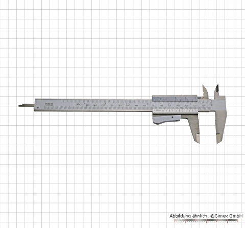 Vernier calipers for LEFT HAND, 150 mm, auto