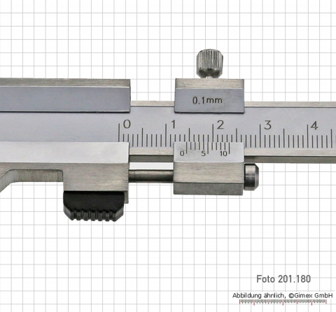 Vernier caliper for brake-discs, 0 - 100 x 120 mm