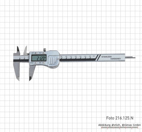 Digital caliper, 200 mm, new