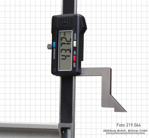 Digital height and marking gauges, light, 100 mm