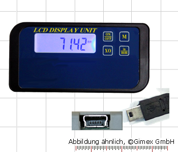 Digital display for capacitive measuring system, 1x, RB5