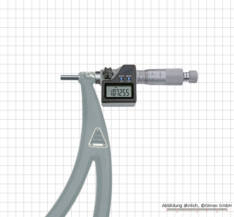 Digital micrometer with relocatable anvils 300 - 400 mm