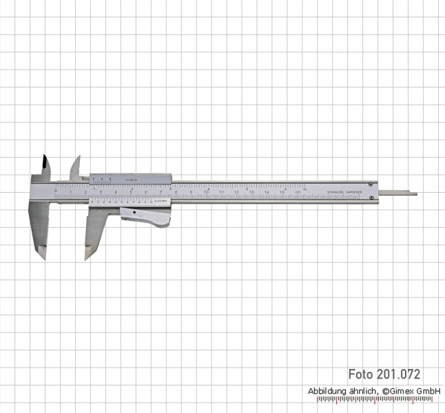 Vernier calipers TOP, 200x0,05 mm, auto