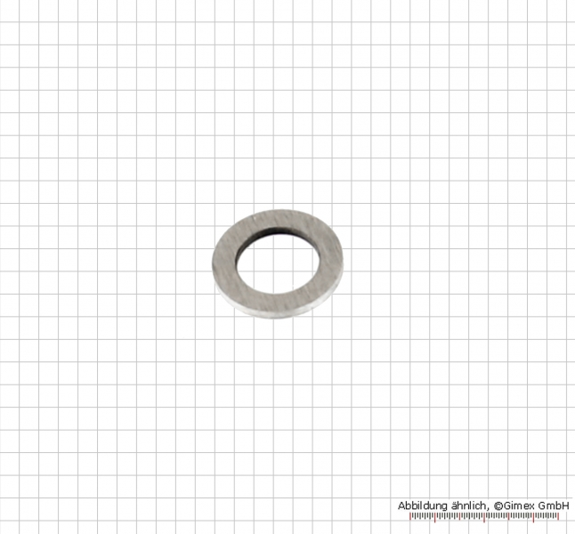 Shim ring set for range 50 - 100 mm, 1 - 4 mm