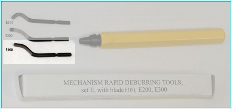 deburring tools, spear cutter, E100