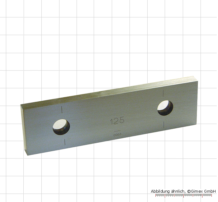 Single block gauge 200 mm, degree 2